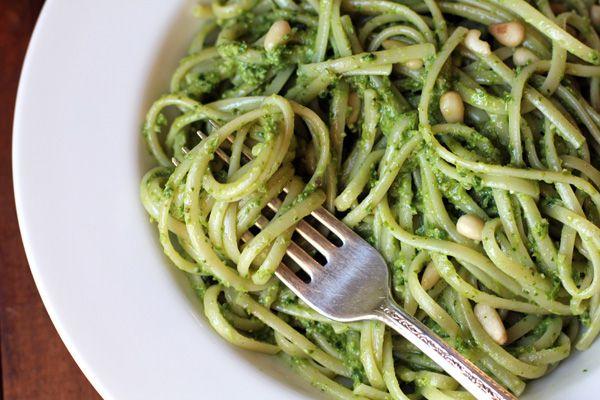 Spring Asparagus Pesto Pasta