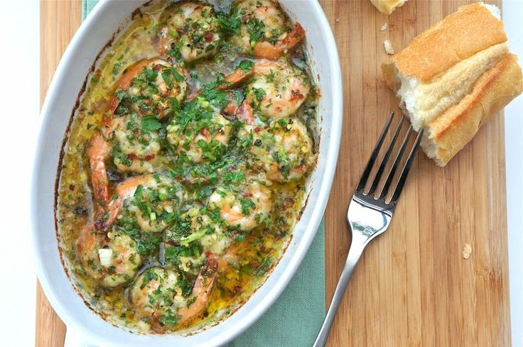 Lemon, Lime, And Garlic Shrimps. My favorite recipe. Dip slices of ...
