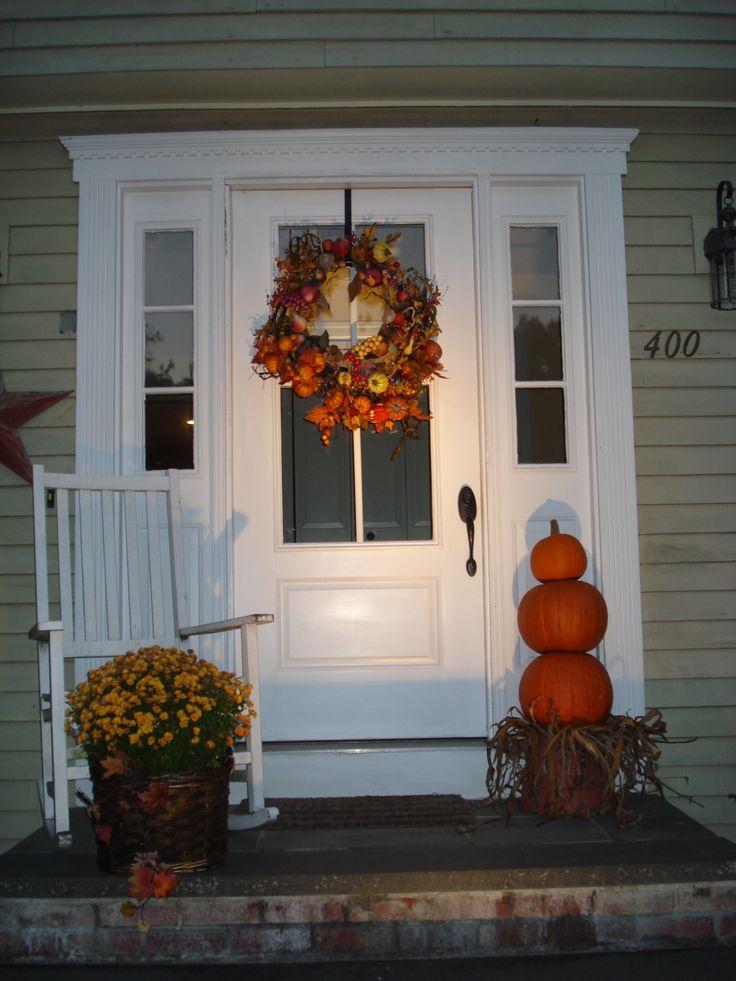 Front door holiday ideas pinterest for Door idea pinterest