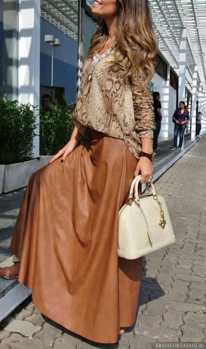 Falda #larga