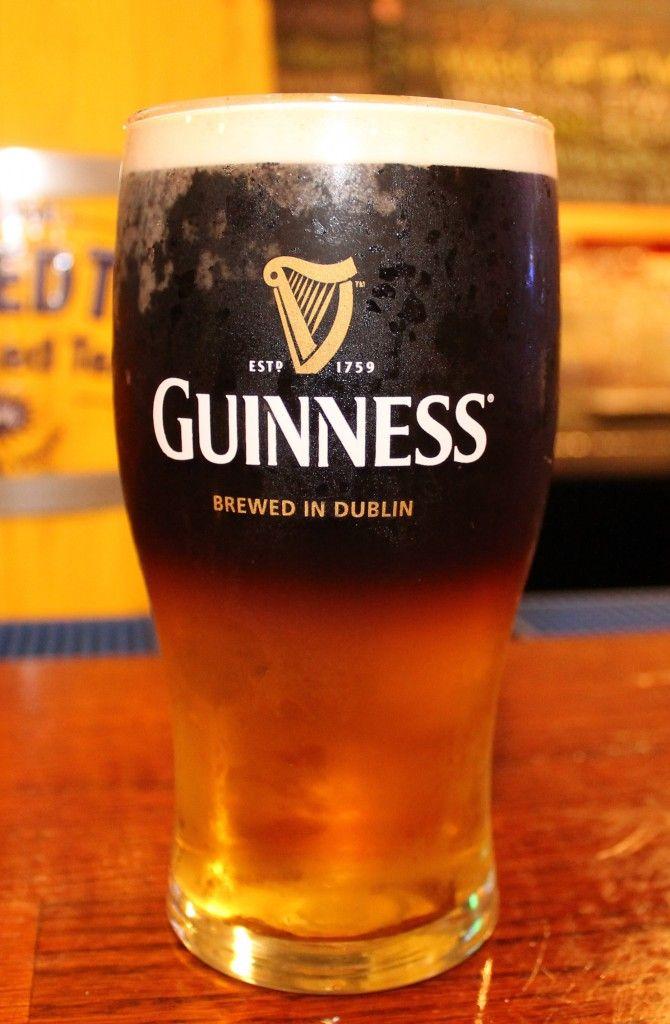 Black Velvet Beer Cocktail (Guinness and Apple Orchard Cider)