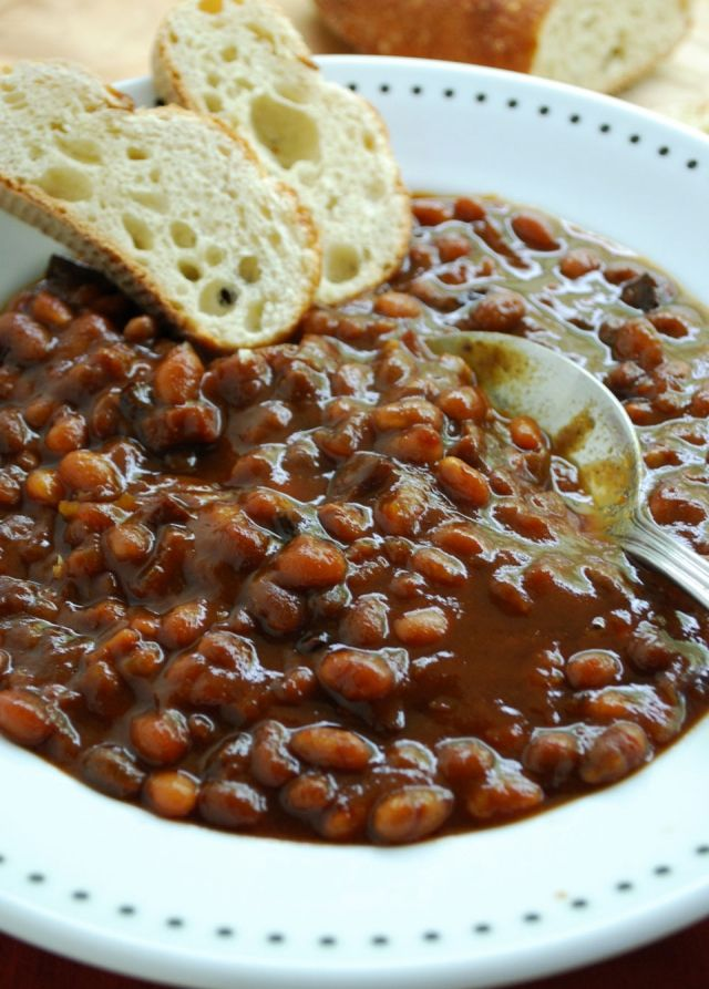 easy baked beans | FOODS: SIDE DISHES | Pinterest