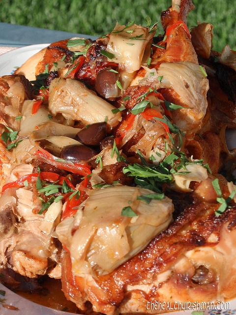 Artichoke Chicken | Food and Drink | Pinterest