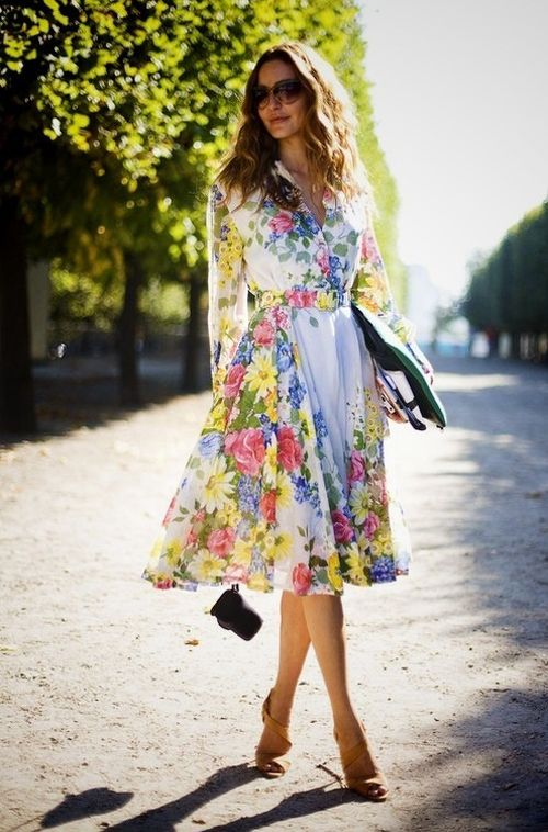 love this floral look