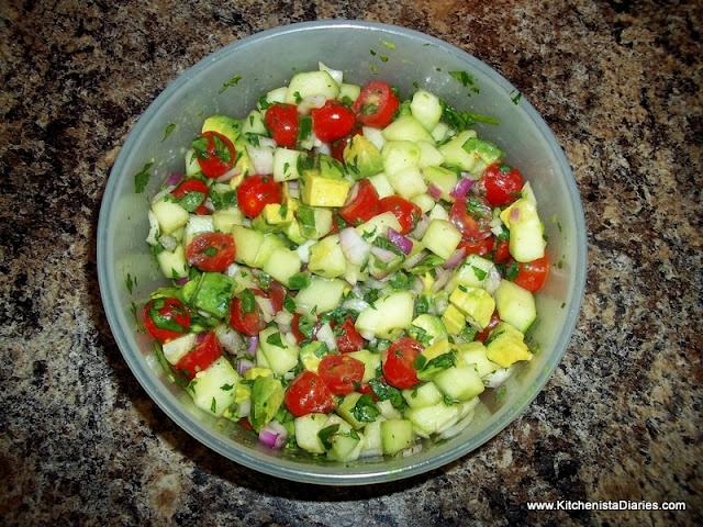 Cucumber Avocado Salsa | Food and Liquor | Pinterest