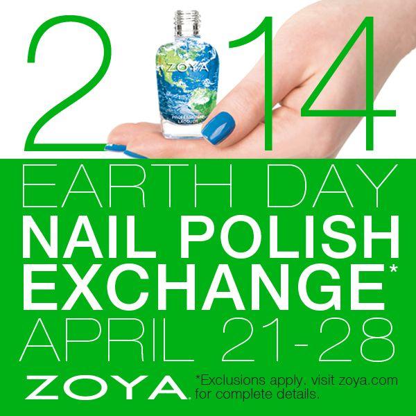 Zoya Earth Day Nail Polish Exchange 83