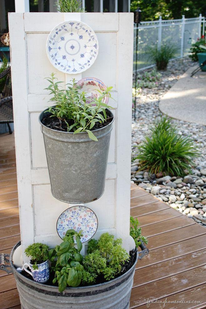 Diy Backyard Kitchen Herb Garden