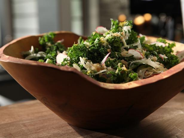 Kale Caesar Salad Recipe...my boyfriend made this for me last night ...