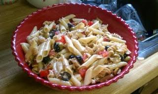 Feta-artichoke pasta salad | Soups, Salads, Sandwiches, Wraps | Pinte ...