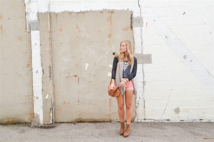 Blogger Lisa Prang in Synergy Organic Clothing Freebird Scoopneck Tank