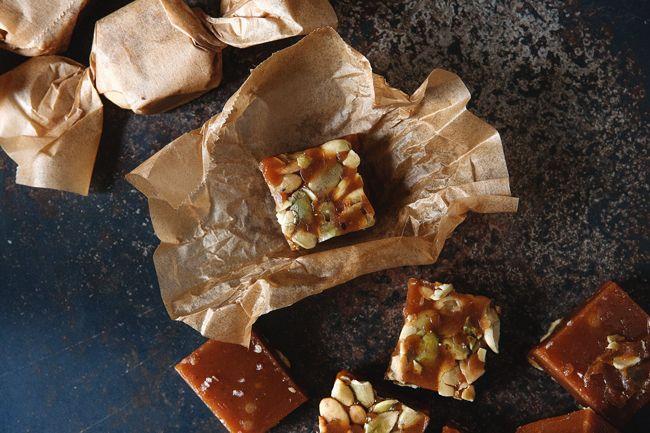 salted pumpkin caramels | Candy | Pinterest