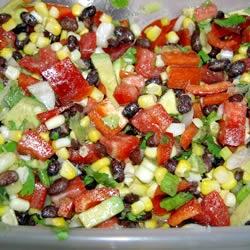 Black Bean and Corn Salad II Allrecipes.com