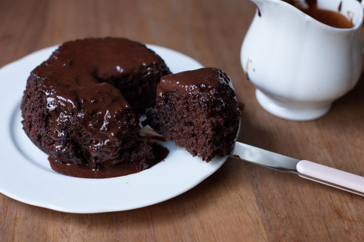 Steamed Chocolate Pudding Cakes Recipe — Dishmaps