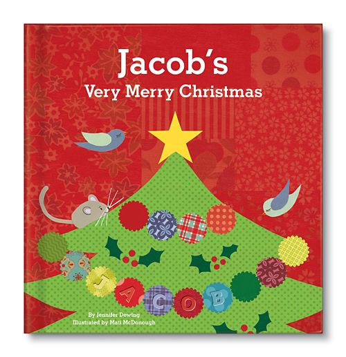 My Very Merry Personalized Christmas Board Book