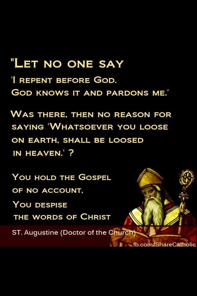 Quote From St. Augustine