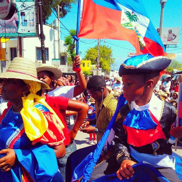 may 18 haitian flag day
