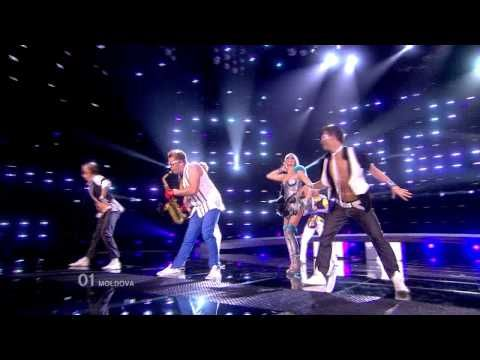 moldova eurovision 2010 saxophone guy hd