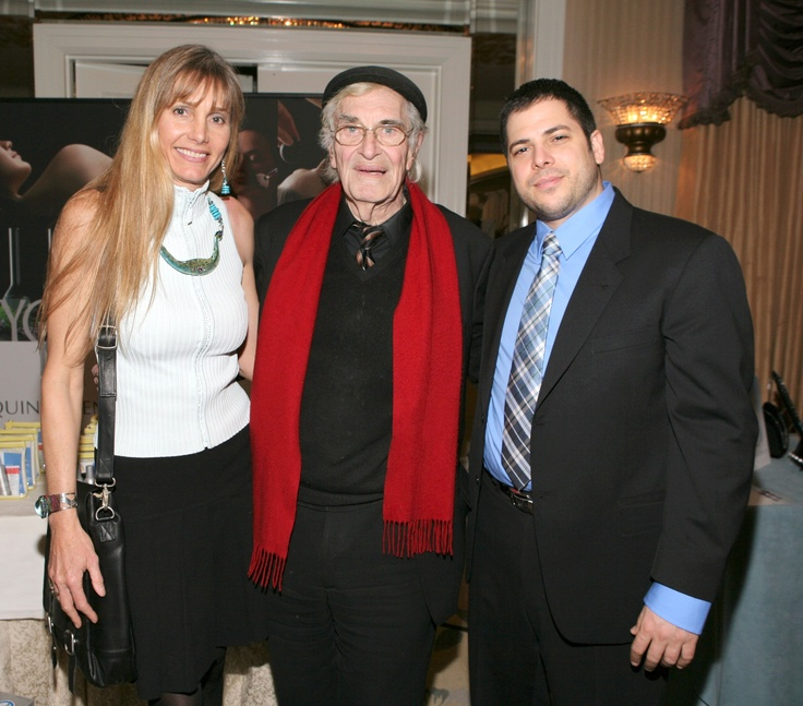 Martin Landau with Dr. Becker in LA!