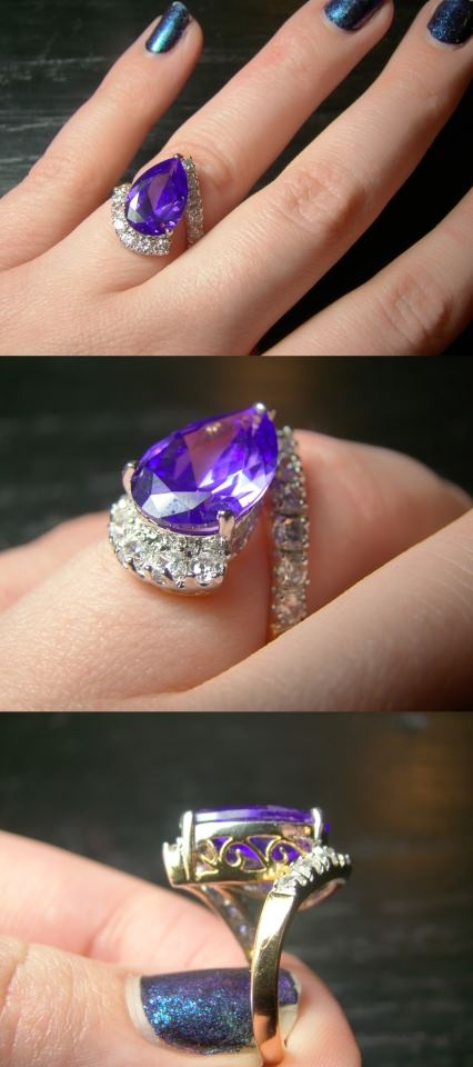 Jewelry diamondcandles what a beautiful ring to find inside a candle