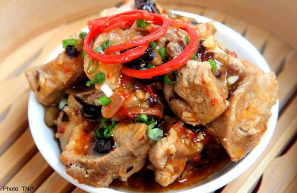 Steamed pork ribs with fermented black beans | The Straits Times ...