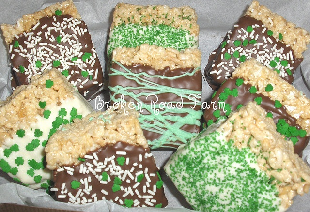 St. Patrick's Day Rice Crispy Treats