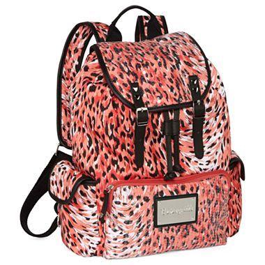 Betseyville® Leopard-Print Backpack - jcpenney