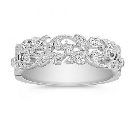 Shane Co Vine Wedding Band Jewelssssss Pinterest