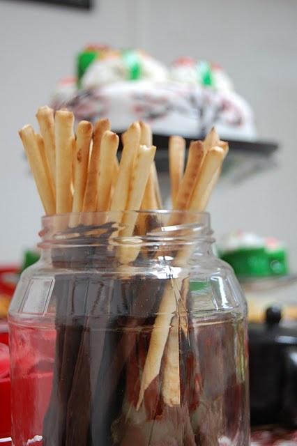 homemade pocky sticks | crave this | Pinterest