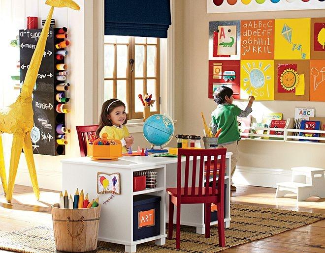 Art Playroom Pottery Barn Kids Playroom Pinterest