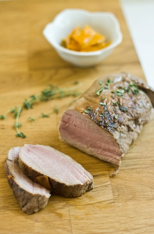 pork loin with orzo recipes dishmaps pork loin brown sugar rubbed pork ...