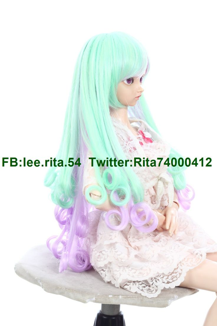 ... by Lee Rita on Synthetic Doll's Wigs Synthetic BJD Wigs | Pinter