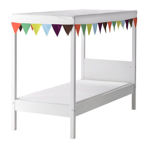 Wickelkommode Selber Bauen Ikea Malm ~ Ikea four poster toddler bed  Lulei's Room  Pinterest