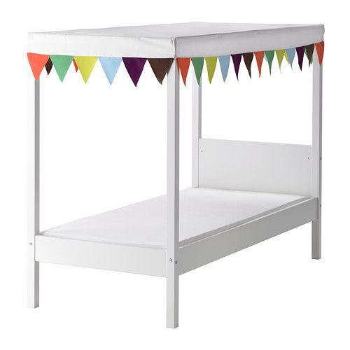 Ideas To Arrange Ikea Malma Mirror ~ Ikea four poster toddler bed  Lulei's Room  Pinterest