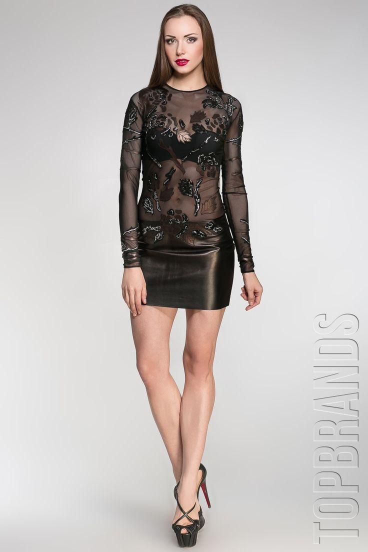 Платье из меха