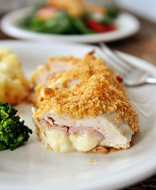 Mel's Kitchen Cafe | Chicken Cordon Bleu-- trying this with chopped ...