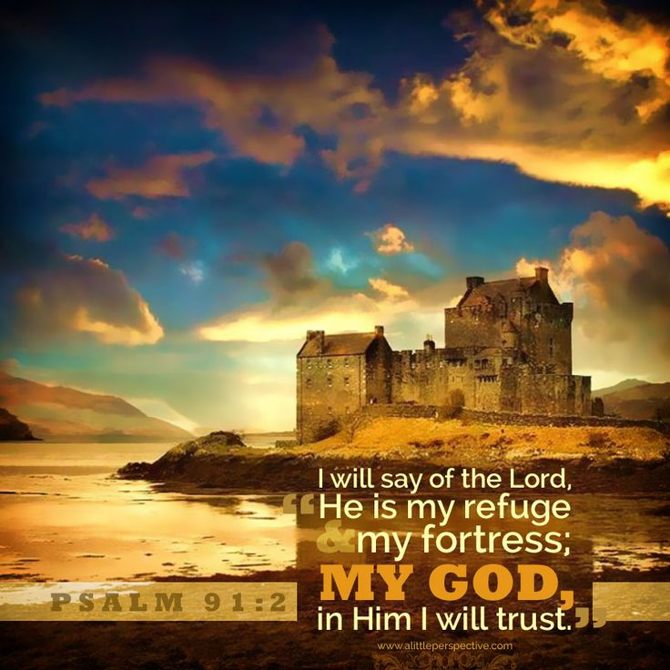 Psalm 91 2 Quotes Pinterest