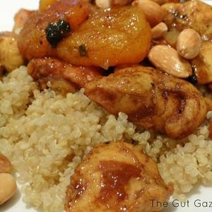 Chicken Almond Apricot Tagine | Recipes from Around the World | Pinte ...