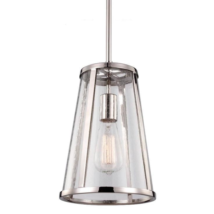 seeded glass transitional mini pendant light. Black Bedroom Furniture Sets. Home Design Ideas