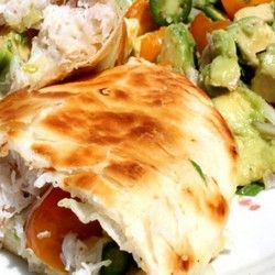 Crab and Avocado Quesadilla | Delicious Yumminess | Pinterest