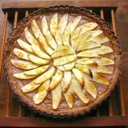 ... was pretty excited pear almond flan maple pear tart normandy pear tart