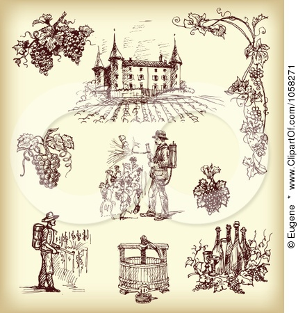 wine making clip art - Bing Images | MAMBO ITALIANO | Pinterest