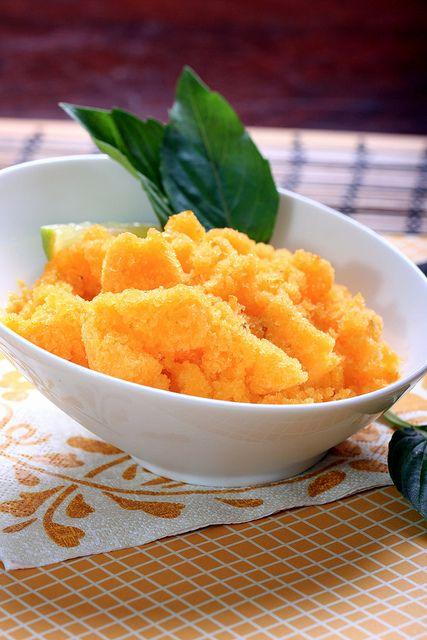 Clementine-Basil Sorbet: olivesfordinner.com