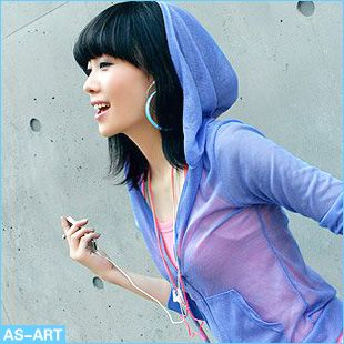 2013 spring long-sleeve sun protection clothing for women beach