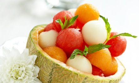 Three Melon Fruit Salad (Recipe) by Katie Waldeck on Care2