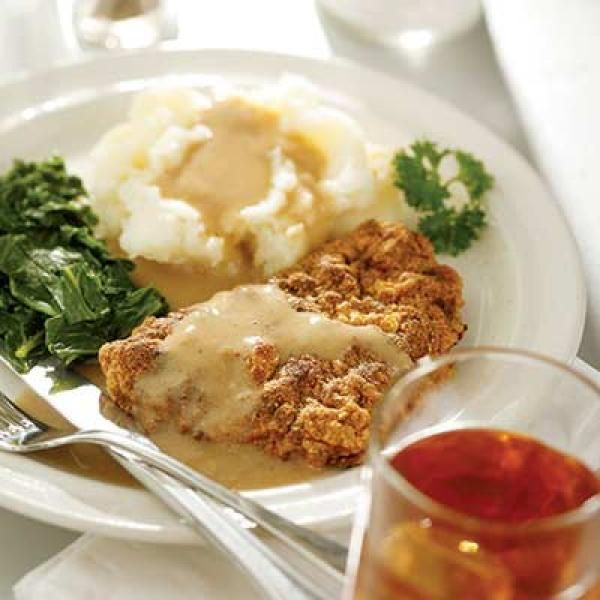 Chicken-Fried Steak & Gravy | KitchenDaily.com