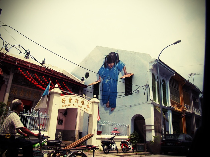 Cool mural in penang malaysia international design and for Mural 1 malaysia