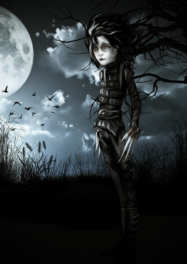edward scissorhands halloween costume diy