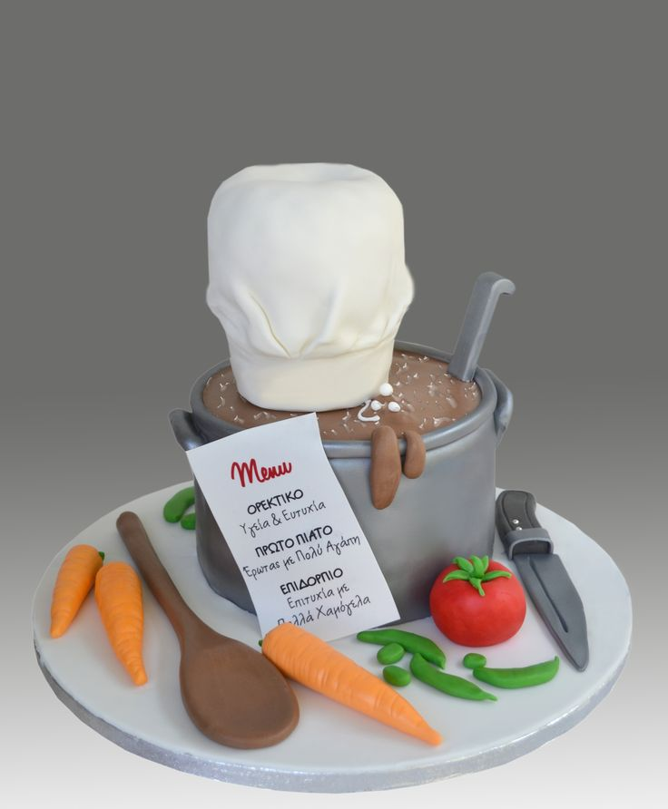 Cake Ideas For A Chef : - Chef Cake Cakes & Cupcakes & Desserts! Pinterest