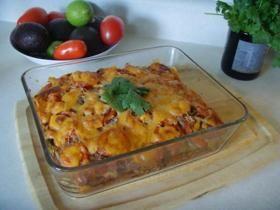 Mexican Lasagna (gluten-free and vegetarian) Recipe Kreativekitchen ...