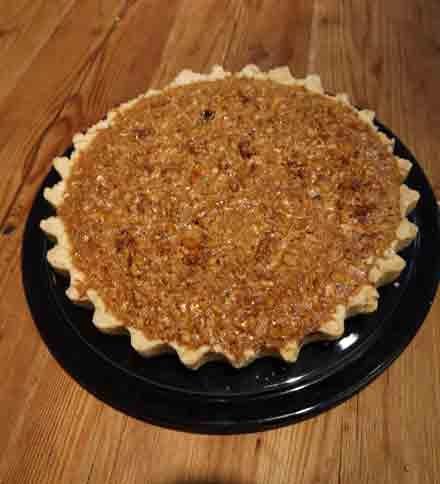 Honey and Walnut Tart | Yum | Pinterest